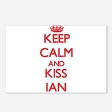 Keep Calm and Kiss Ian Postcards (Package of 8)