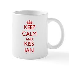 Keep Calm and Kiss Ian Mugs