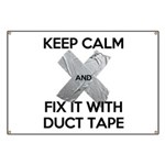 duct tape Banner