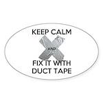 duct tape Sticker