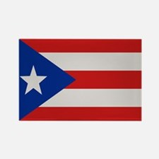 """Puerto Rico Flag"" Rectangle Magnet"