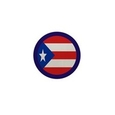 """Puerto Rico Flag"" Mini Button (10 pack)"