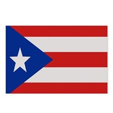 """Puerto Rico Flag"" Postcards (Package of 8)"