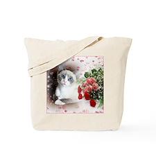 Snowshoe Cat Tote Bag
