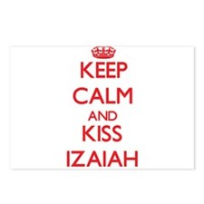 Keep Calm and Kiss Izaiah Postcards (Package of 8)