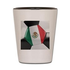 Mexico Soccer Ball Shot Glass