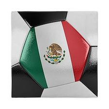 Mexico Soccer Ball Queen Duvet