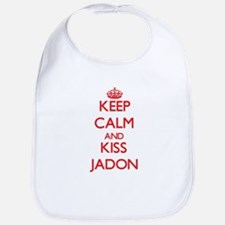 Keep Calm and Kiss Jadon Bib