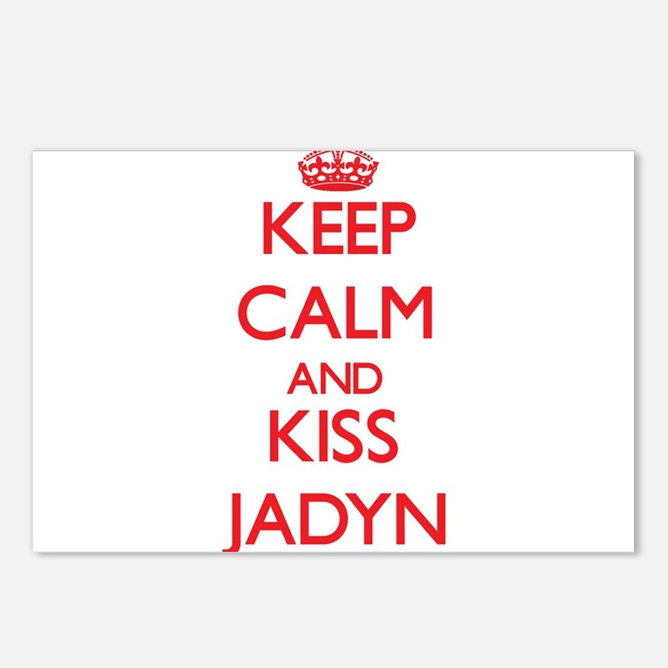 Keep Calm and Kiss Jadyn Postcards (Package of 8)