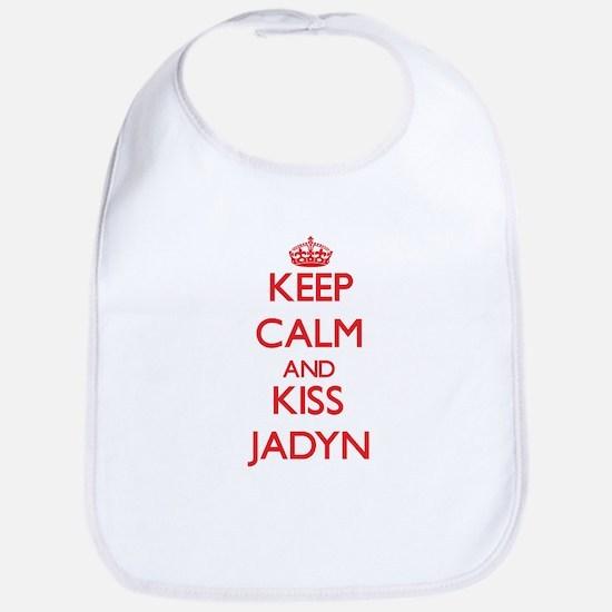Keep Calm and Kiss Jadyn Bib