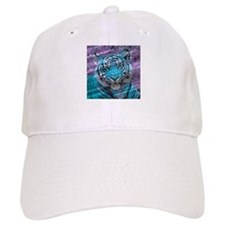 Crazy blue Tiger (C) Baseball Baseball Cap