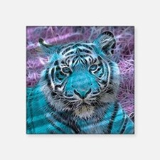Crazy blue Tiger (C) Sticker