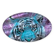 Crazy blue Tiger (C) Decal