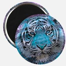 Crazy blue Tiger (C) Magnets