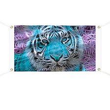 Crazy blue Tiger (C) Banner