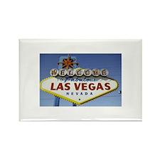 Las Vegas Sign Rectangle Magnet