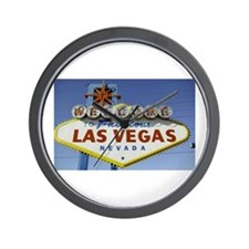 Las Vegas Sign Wall Clock