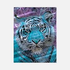 Crazy blue Tiger (C) Twin Duvet