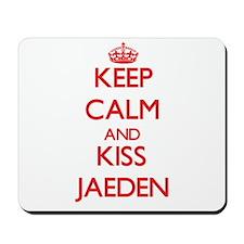 Keep Calm and Kiss Jaeden Mousepad