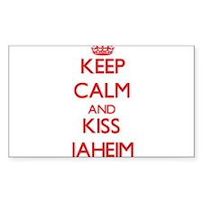 Keep Calm and Kiss Jaheim Decal