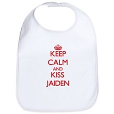 Keep Calm and Kiss Jaiden Bib