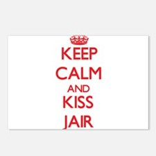 Keep Calm and Kiss Jair Postcards (Package of 8)