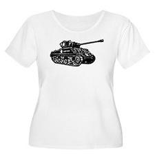 M4A3E2 Sherman Jumbo Plus Size T-Shirt