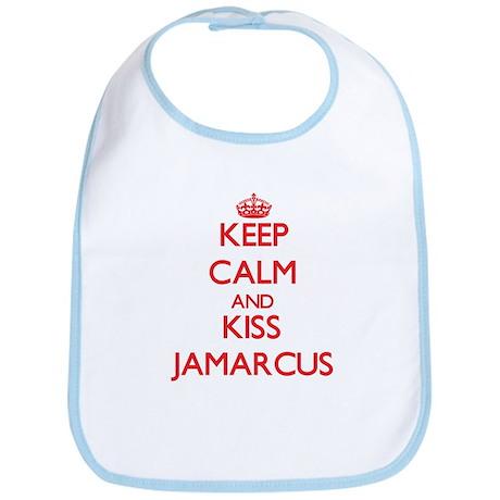 Keep Calm and Kiss Jamarcus Bib