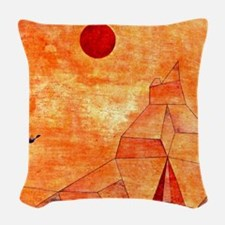 Klee - Marchen Woven Throw Pillow