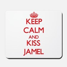 Keep Calm and Kiss Jamel Mousepad