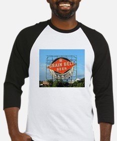 Minneapolis Grain Belt Sign Baseball Jersey