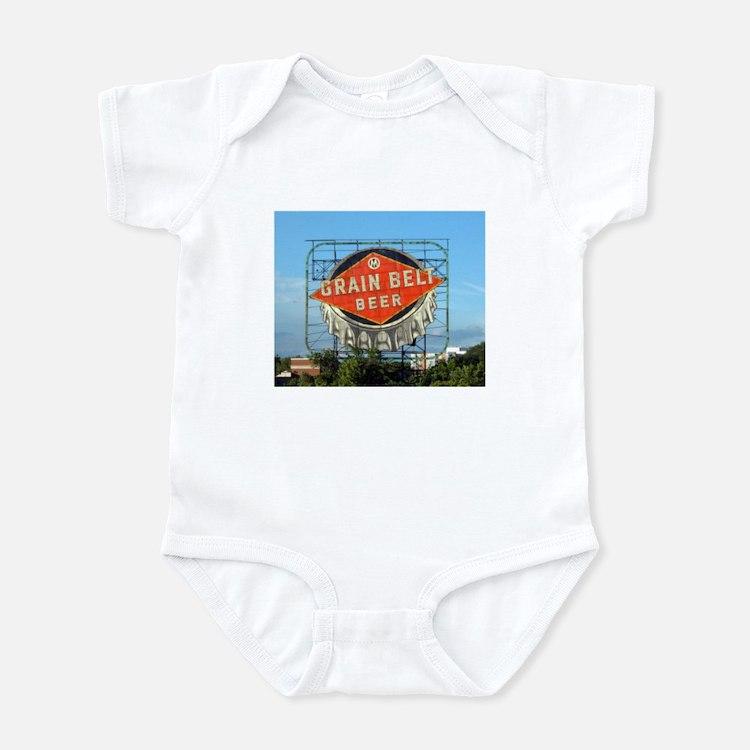 Minneapolis Grain Belt Sign Infant Bodysuit