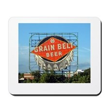 Minneapolis Grain Belt Sign Mousepad