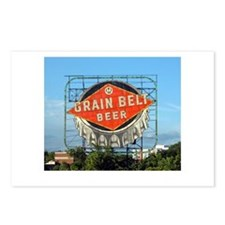 Minneapolis Grain Belt Sign Postcards (Package of