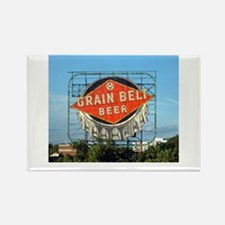 Minneapolis Grain Belt Sign Rectangle Magnet