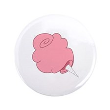 "Cotton candy 3.5"" Button (100 pack)"