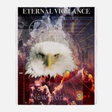Eternal Vigilance Throw Blanket