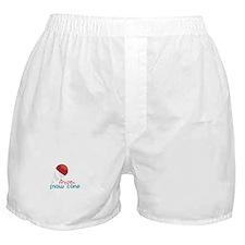Frozen Snow Cone Boxer Shorts
