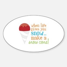 When Life Gives You Snow... Make A Snow Cone! Stic