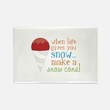 When Life Gives You Snow... Make A Snow Cone! Magn