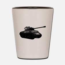 M4A3E2 Sherman Jumbo Shot Glass