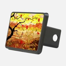 Apple Tree with Red Fruit Hitch Cover