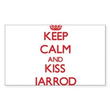 Keep Calm and Kiss Jarrod Decal