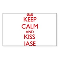 Keep Calm and Kiss Jase Decal