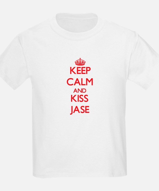 Keep Calm and Kiss Jase T-Shirt