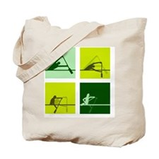 dragon boat paddling step by step Tote Bag