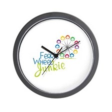 Ferris wheel Junkie Wall Clock