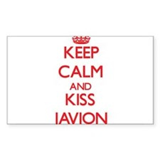 Keep Calm and Kiss Javion Decal
