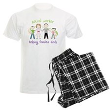 social worker Helping Families Daily Pajamas