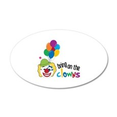 Bring On The Clowns Wall Decal